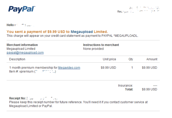 MegaUpload (MegaVideo) Smoking Gun? Did the site illegally charge