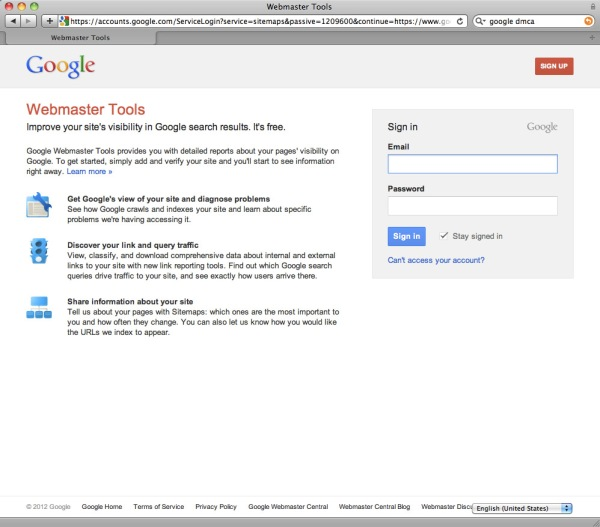 How to DMCA : Google Web Search, De-Listing Infringing Links | The