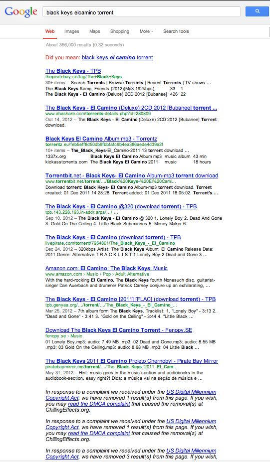 googleblackkeystorrents
