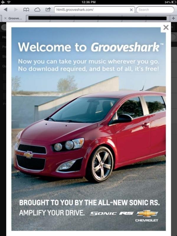 chevy grooveshark
