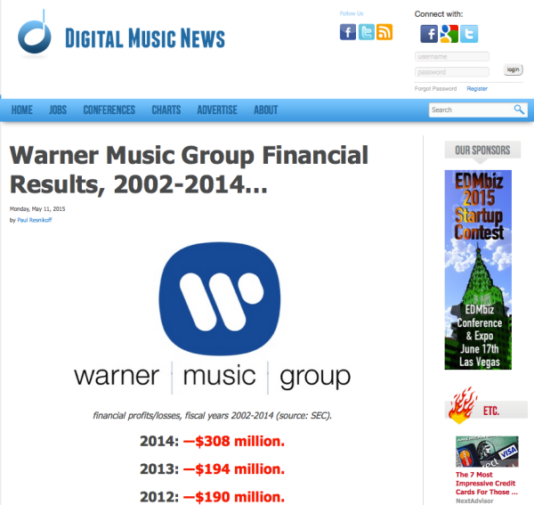 WarnerMusicGroupLosses