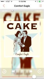 playing cake