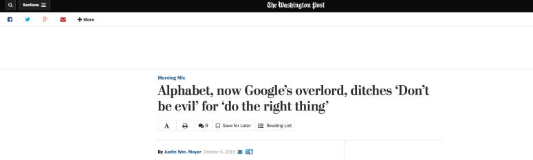 google motto