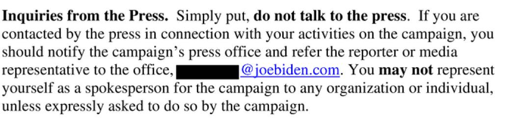 Biden Press